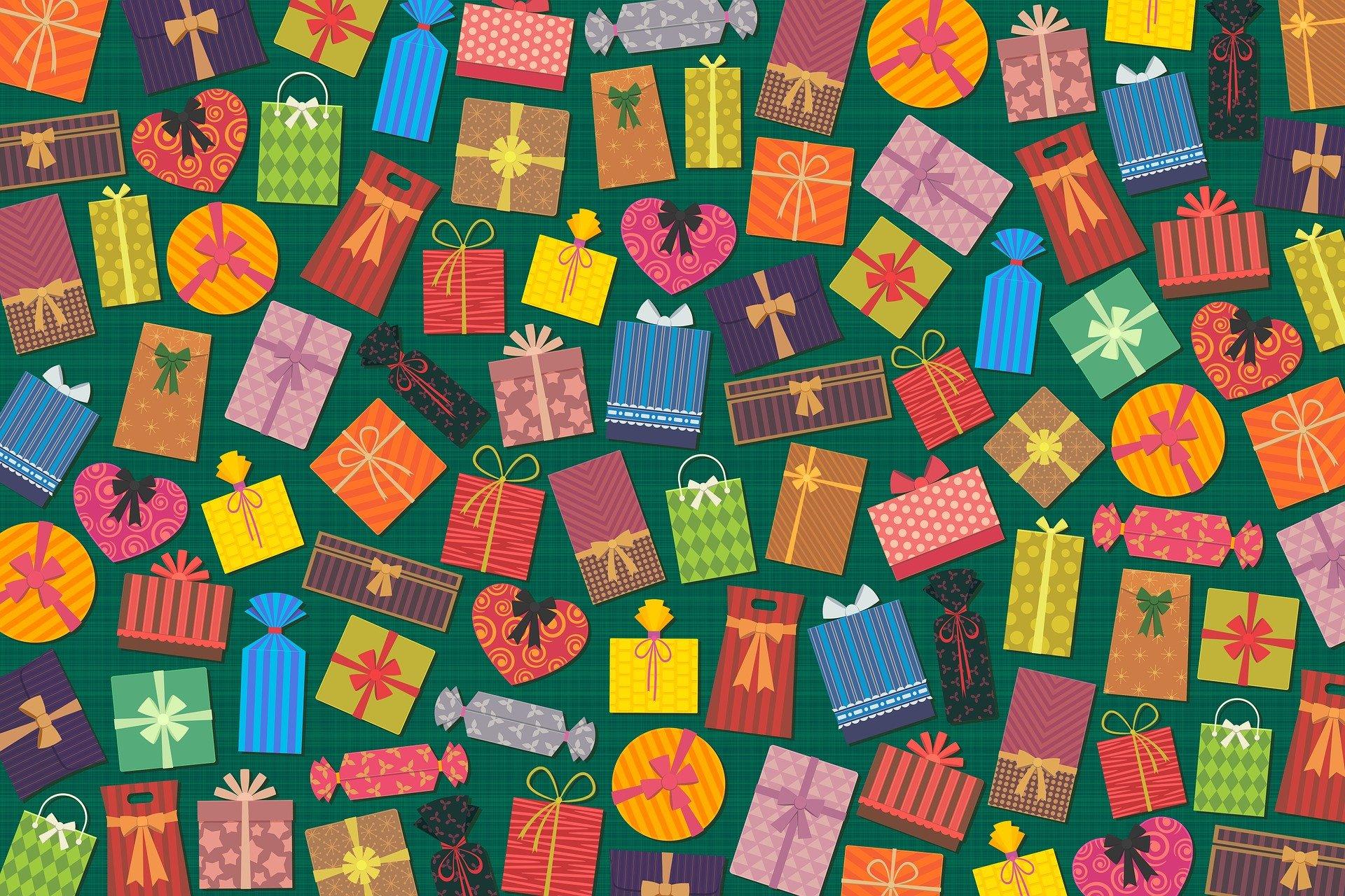 沢山のプレゼント